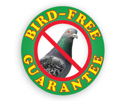 Bird Free Guaranteed Logo